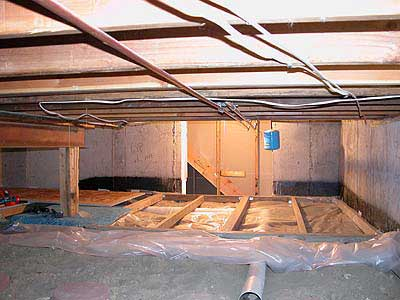 basement crawl space